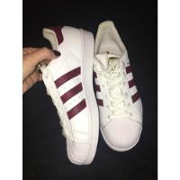 Zapatillas adidas Superstar Originals Bordo, usado segunda mano  retiro
