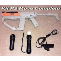 Kit Ps3 - Sharp Shooter - Navigator - Move - Eye - Ps3 segunda mano  San Justo