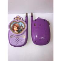 Walkie Talkie De Princesa Sofía Disney, usado segunda mano  Adrogue