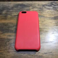 Funda Cuero iPhone 6 6s Roja segunda mano  Escobar-Matheu