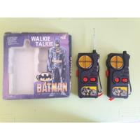 Walkie Talkie Batman 1989 Coleccion Antiguo segunda mano  Bernal Oeste
