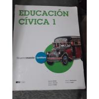 Usado, Educación Civica 1  Santillana segunda mano  Capital Federal