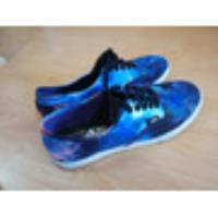 Zapatillas Vans Authentic Galaxy Cosmic  segunda mano  Lanus Oeste