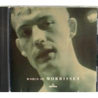 Morrissey - World Of Morrissey - Cd Imp. Uk + Ticket 3/2012 segunda mano  Capital federal